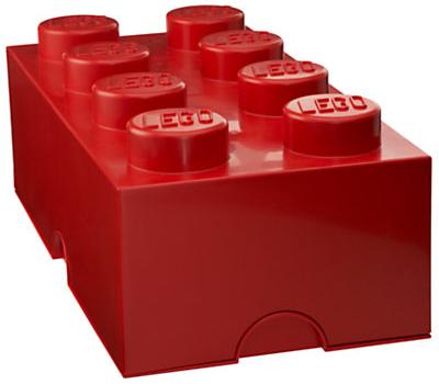 Red storage brick
